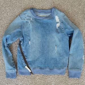 Treasure and bond girls jean shirt